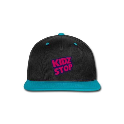 kidz stop 2color - Snap-back Baseball Cap