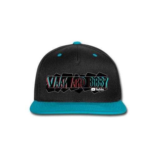 Retro Funk V&B Geometry Logo! - Snap-back Baseball Cap