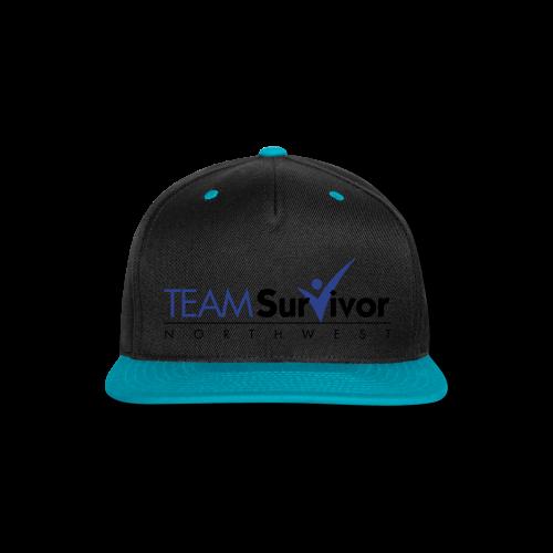TSNW logo - Snap-back Baseball Cap