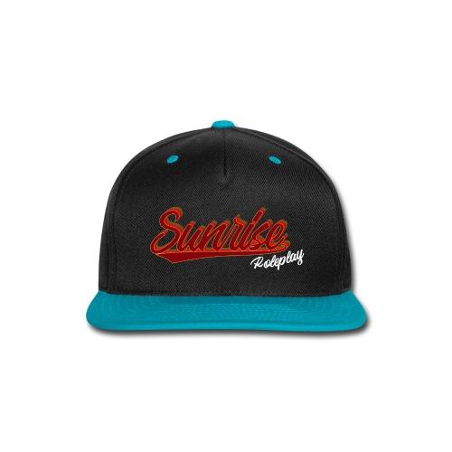 Sunrise Roleplay Logo (White) - Snap-back Baseball Cap
