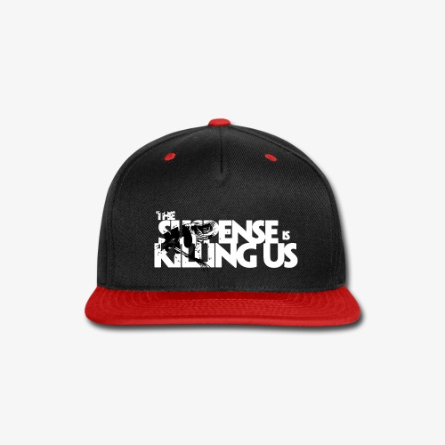 Suspense Is Killing Us Black Eye Logo - Snap-back Baseball Cap