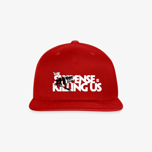 Suspense Is Killing Us Black Eye Logo - Snap-back Baseball Cap