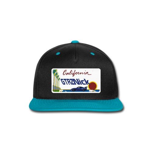 GTRZ Licence Plate - Snap-back Baseball Cap