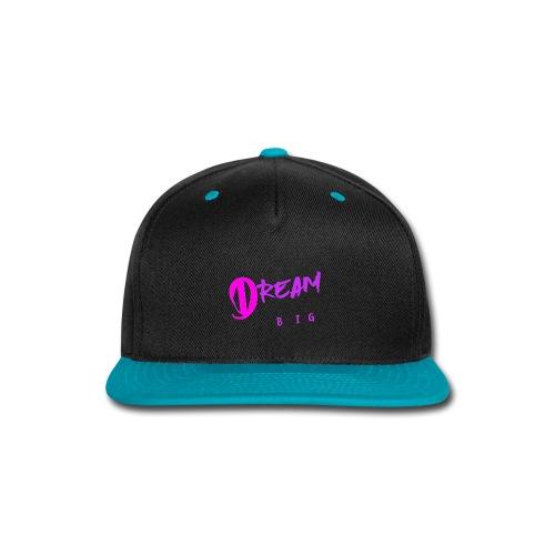 DREAM BIG - Snap-back Baseball Cap