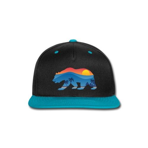 California Bear - Snap-back Baseball Cap