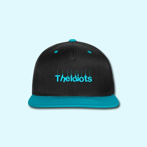 The Idiots Blue - Snap-back Baseball Cap