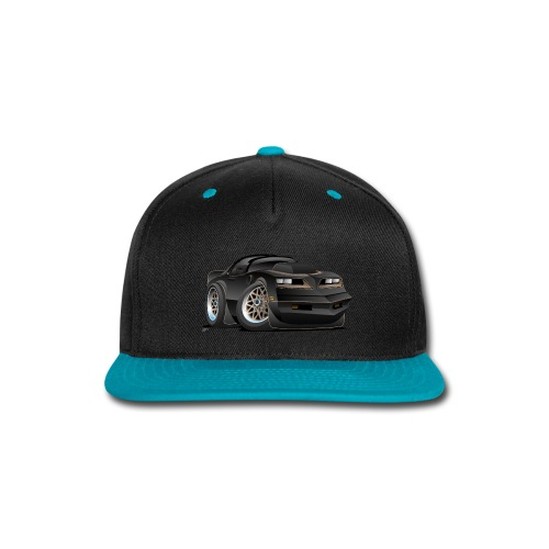 Seventies Classic Muscle Car Cartoon - Snap-back Baseball Cap