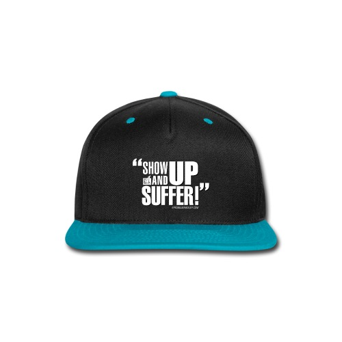 showupandsuffer_NewType_DC - Snap-back Baseball Cap