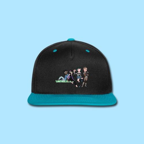 group pic - Snap-back Baseball Cap