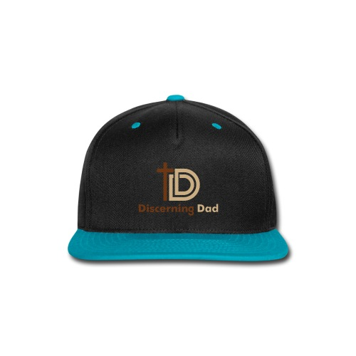 Discerning Dad logo - Snap-back Baseball Cap