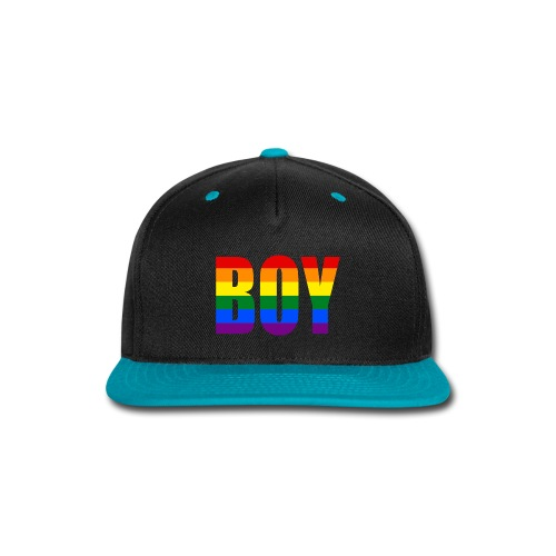 BOY PRIDE - No.001 - Snap-back Baseball Cap