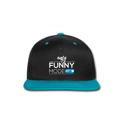 Funny time on - Snap-back Baseball Cap
