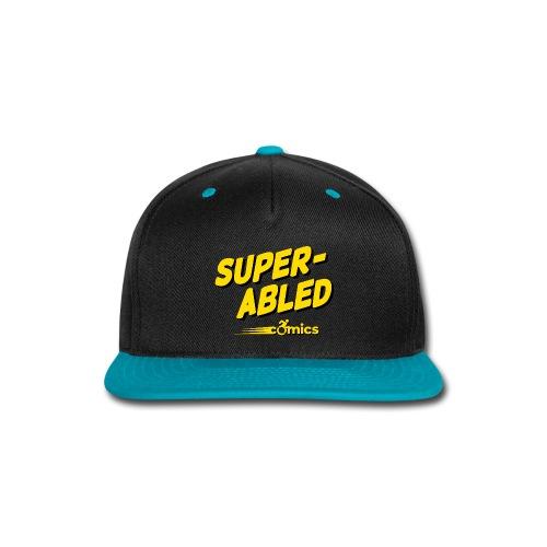 Super-Abled Comics - yellow/black - Snap-back Baseball Cap