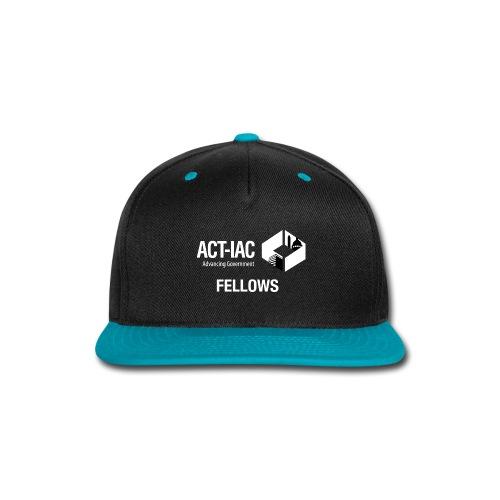 BW WITH TEXT Fellows actiac logo cmyk - Snap-back Baseball Cap