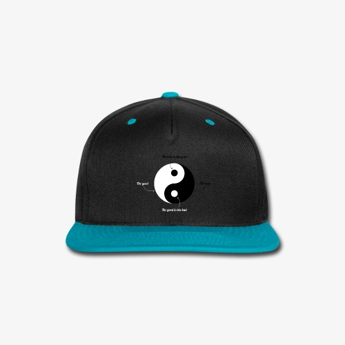 Ying-Yang - Snap-back Baseball Cap