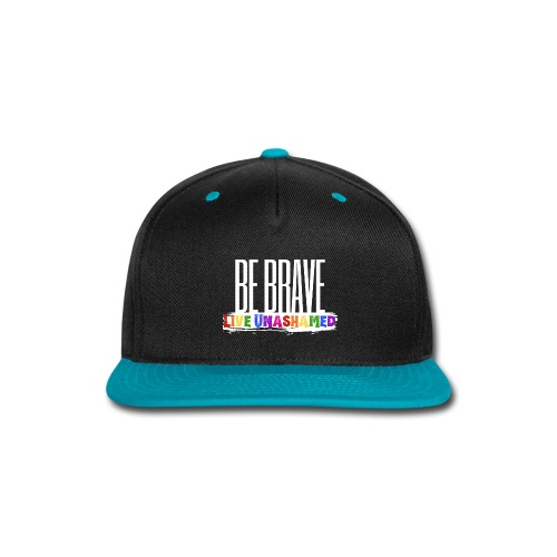 Be Brave, Live Unashamed Hats - Snap-back Baseball Cap