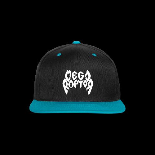 Megaraptor Logo White - Snap-back Baseball Cap
