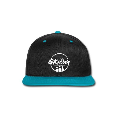 GKrown Logo White - Snap-back Baseball Cap