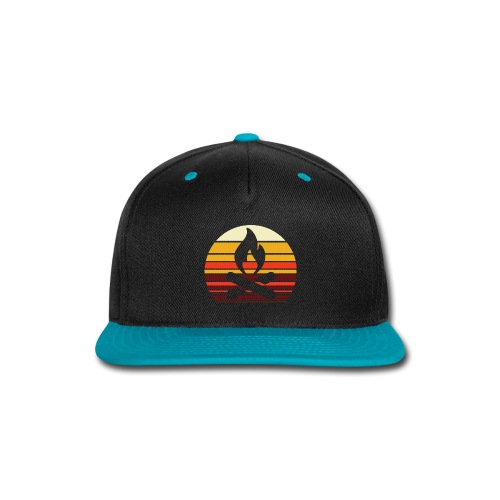 Campfire Sunset - Snap-back Baseball Cap