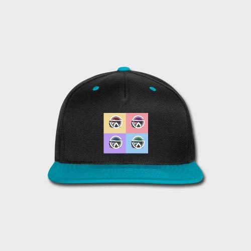 Slow Burn Faces - Snap-back Baseball Cap