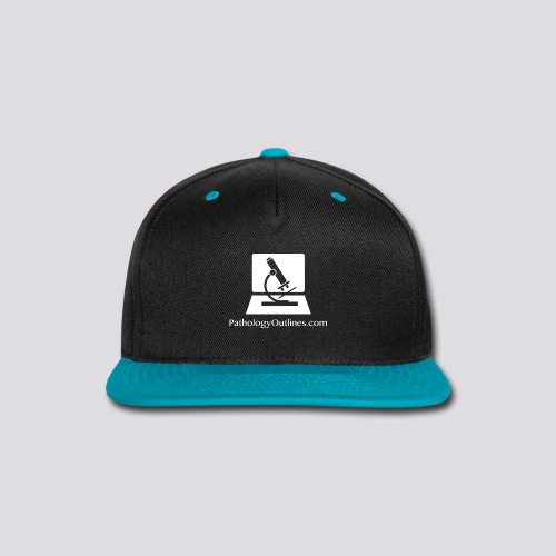 Pathology Outlines Square Logo - Snap-back Baseball Cap