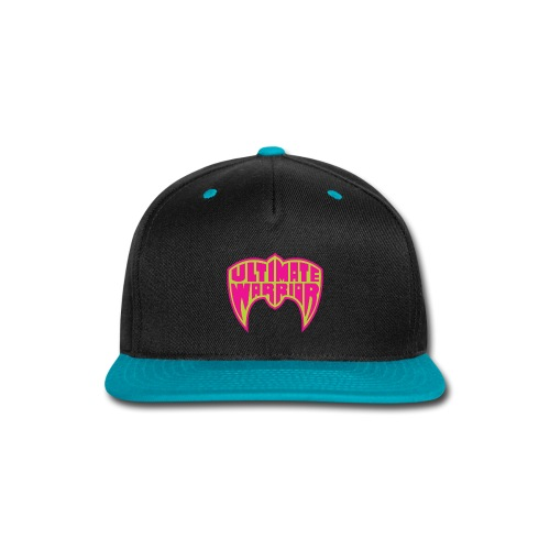 Ultimate Warrior Logo - Snap-back Baseball Cap