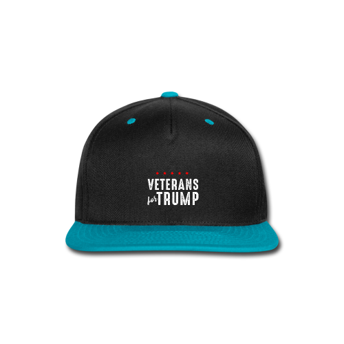 Veterans For Trump - Snap-back Baseball Cap