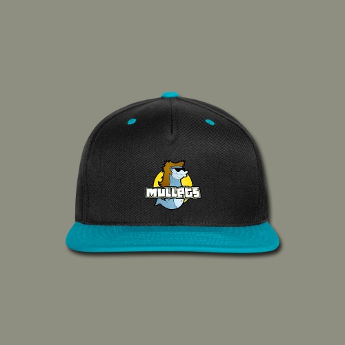 mullets logo - Snap-back Baseball Cap
