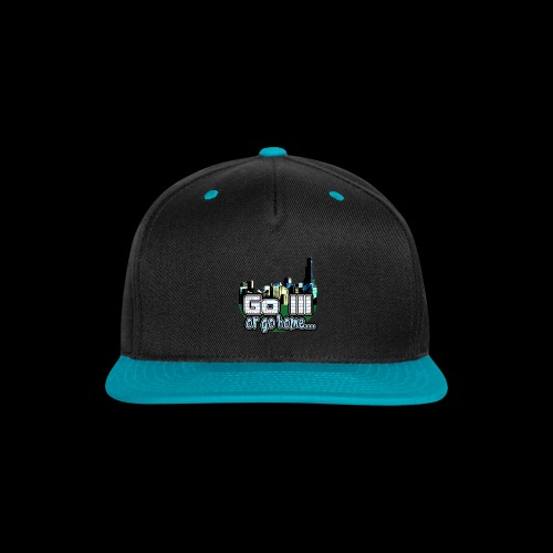 Go Ill or Go Home - Snap-back Baseball Cap
