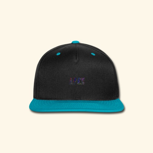 APEX RAINBOW DESIGN - Snap-back Baseball Cap