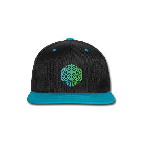 Green Leaf Geek Iconic Logo - Snap-back Baseball Cap