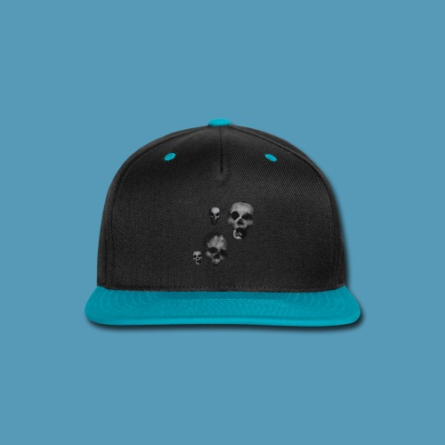 Bone skulls - Snap-back Baseball Cap