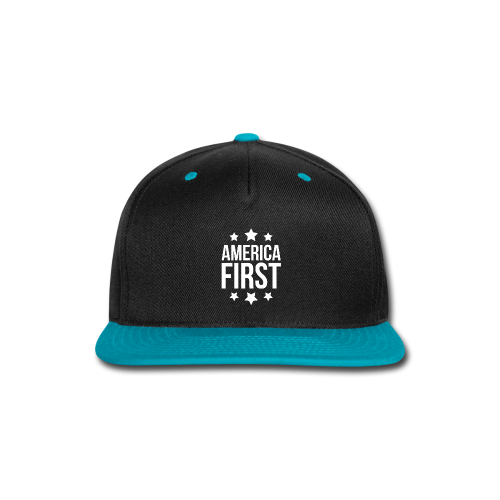 America First - Snap-back Baseball Cap