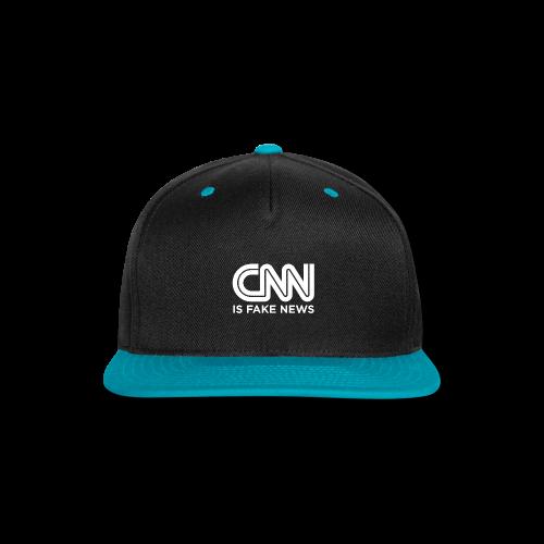 CNN Is Fake News - Snap-back Baseball Cap