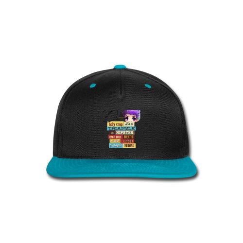 HIPSTER - Snap-back Baseball Cap