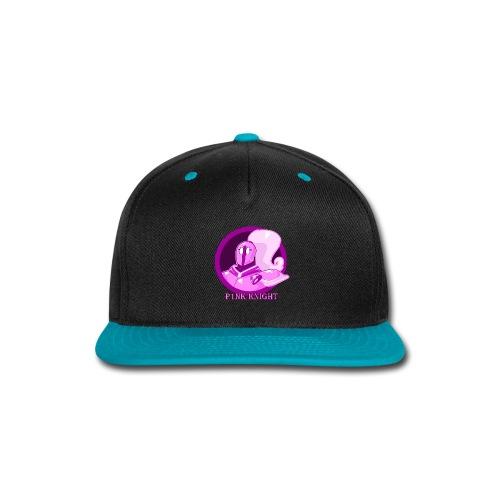 Pink Knight logoV2 - Snap-back Baseball Cap