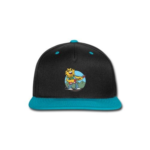 sun guitar rocker v1 t - Snap-back Baseball Cap