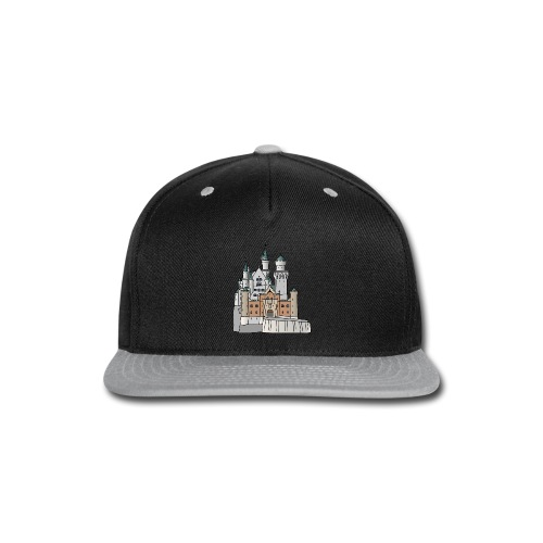 Neuschwanstein Castle, Bavaria - Snap-back Baseball Cap