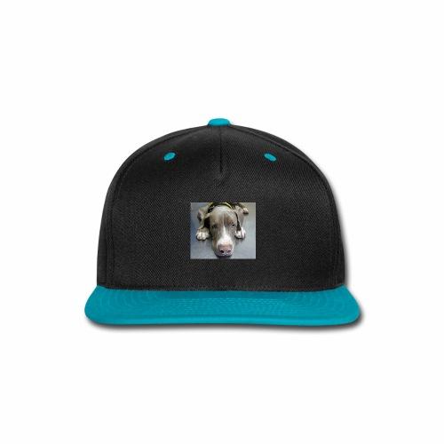 lovely puppy - Snap-back Baseball Cap
