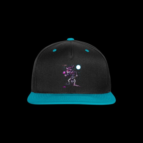 The Black Weirdo - Snap-back Baseball Cap