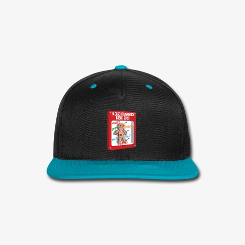 In case of emergency Voodoo Puppet - Snap-back Baseball Cap