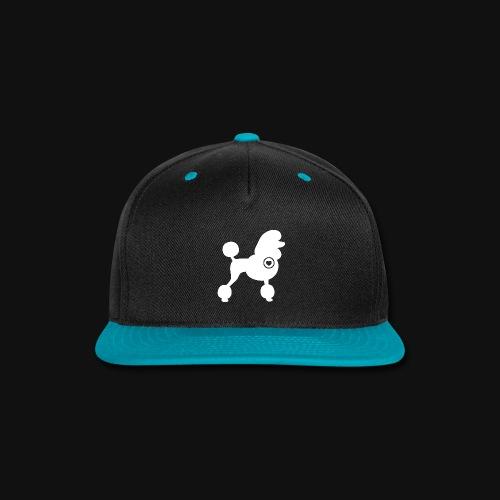 Poodle love - Snap-back Baseball Cap
