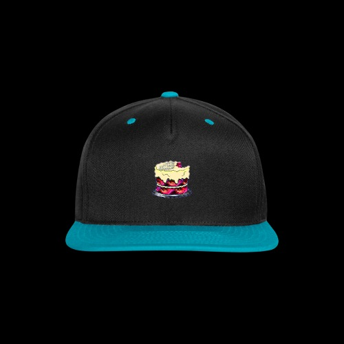 The Baked Space Cake logo - Snap-back Baseball Cap