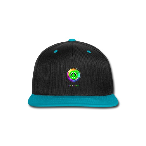 Love And Peace - Snap-back Baseball Cap