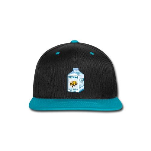 Missing Bees - Snap-back Baseball Cap