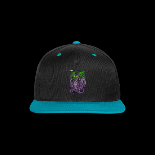 Purple Dragon - Snap-back Baseball Cap
