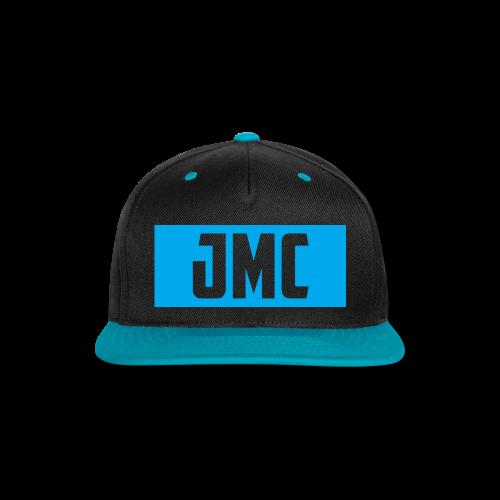 JMC's Blue Logo - Snap-back Baseball Cap