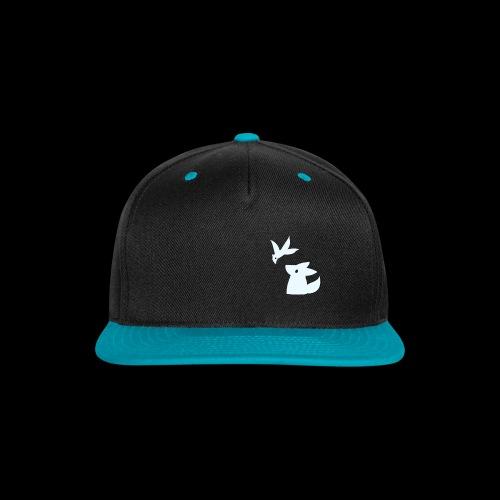 Fluffy hollow logo - Snap-back Baseball Cap