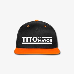 Tito Jackson For Mayor - Snap-back Baseball Cap