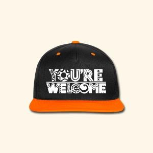 You're Welcome Full - Snap-back Baseball Cap